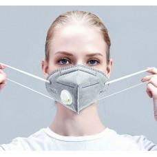 Respirator mask with valve - KN95