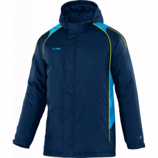 Jako Coach jacket Attack 2.0 navy-turquoise-lemon