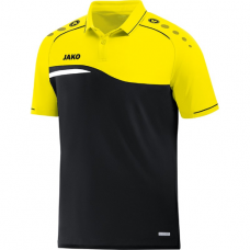 Jako Polo Competition 2.0 black-neon yellow 03