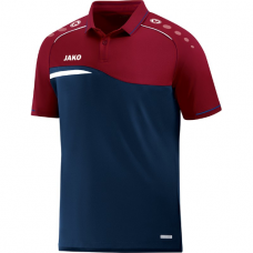Jako Polo Competition 2.0 navy-dark red 09