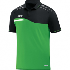 Jako Polo Competition 2.0 soft green-black 22