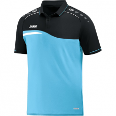 Jako Polo Competition 2.0 aqua-Black 45