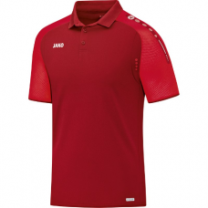 Jako Polo Champ darkred-red 01