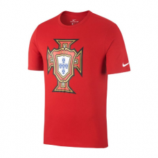 Portugal Crest Tee T-Shirt Red 687