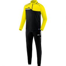 Jako Polyester tracksuit COMPETITION 2.0 Black-neonyellow 03