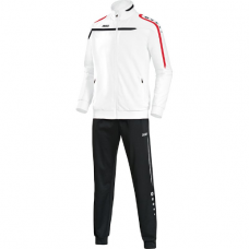 Jako Polyester tracksuit PERFORMANCE white-Black-red 00