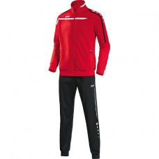 Jako Polyester tracksuit PERFORMANCE red-white-black 01