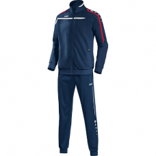 Jako Polyester tracksuit PERFORMANCE marine-white-red 09
