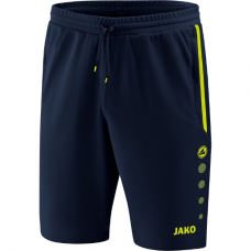 Jako Training shorts Prestige marine-lemon 09