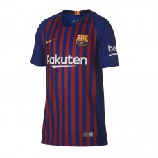 NIKE JR FC BARCELONA  HOME STADIUM 18 19 T-SHIRT 456