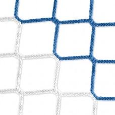Goal net (blue-white) – 7,32 x 2,44 m, 4 mm PP, 80 200 cm