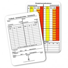 Referee Game Note Cards - Soccer
