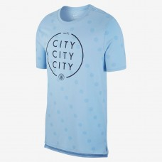 NIKE MANCHESTER CITY FC TEE SQUAD 488