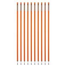 10 Slalom poles 170 cm diameter 32 mm - Orange