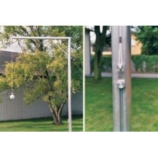 One-armed header pendulum incl. Rope, ball, ground socket