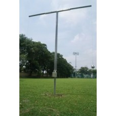 Two-armed header pendulum incl. Ropes, balls, ground socket