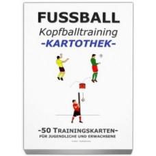 """FOOTBALL training card library - """"Kopfballtraining"""""""