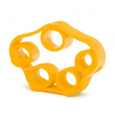 Finger trainer - elastic yellow
