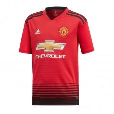 adidas JR MUFC Home Jersey 18 19 048