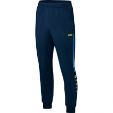 Jako Polyester trousers Champ blue-neon yellow 89
