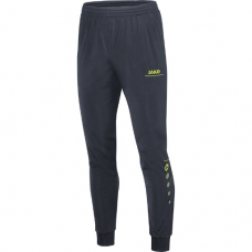 Jako Polyester trousers Striker anthracite-lime 23
