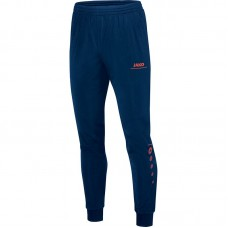 Jako Polyester trousers Striker nightblue-flame 18