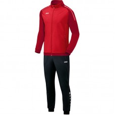 Jako Polyester tracksuit CHAMP red-dark red 01