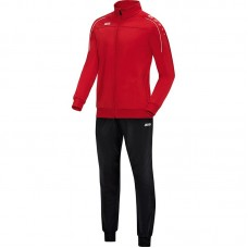 Jako Polyester tracksuit CLASSICO red 01