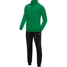 Jako Polyester tracksuit CLASSICO sport green 06