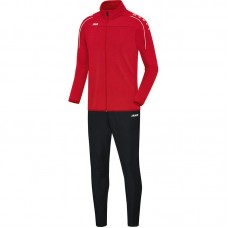 Jako Tracksuit Classico red 01