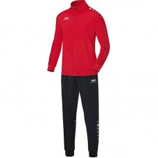 Jako Polyester tracksuit STRIKER red 01