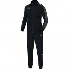 Jako Polyester tracksuit STRIKER black-grey 08