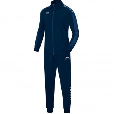 Jako Polyester tracksuit STRIKER navy-night blue 09