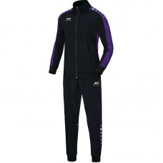 Jako Polyester tracksuit STRIKER black-purple 10