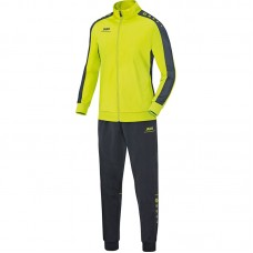 Jako Polyester tracksuit STRIKER lime-anthracite 23