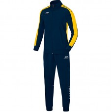 Jako Polyester tracksuit STRIKER navy-yellow 42
