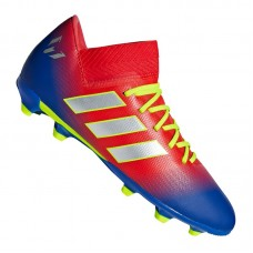 adidas NEMEZIZ Messi 18.3 FG J Kids Red Blue