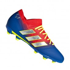 adidas NEMEZIZ Messi 18.1 FG J Kids Red Blue