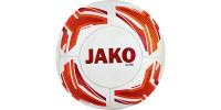 Jako Mini ball Striker white-neon orange-red