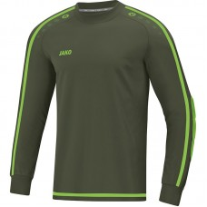 GK jersey Striker 2.0 khaki-neon green Junior
