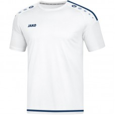 Jako Jersey Striker 2.0 S S white-dark navy Junior 90