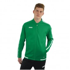 JAKO ladies leisure jacket Striker 2.0 sport green-white