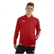 JAKO Ladies Casual Jacket Striker 2.0 chili red-white