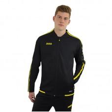 JAKO ladies leisure jacket Striker 2.0 black-neon yellow
