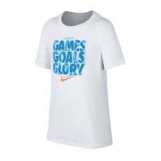 Nike JR Dry Tee Gomes,Goals,Glory T-shirt 100