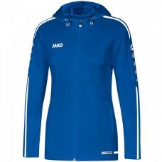 JAKO Ladies Hooded Jacket Striker 2.0 royal-white