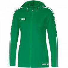 JAKO Ladies Hooded Jacket Striker 2.0 sport green-white