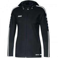 JAKO Ladies Hooded Jacket Striker 2.0 black-white