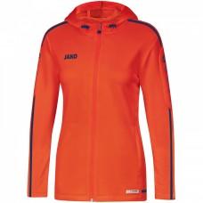JAKO Ladies Hooded Jacket Striker 2.0 flame-navy