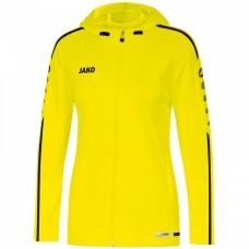 JAKO Ladies Hooded Jacket Striker 2.0 neon yellow-black